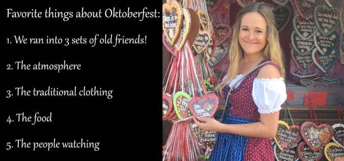 Oktoberfest favorite things